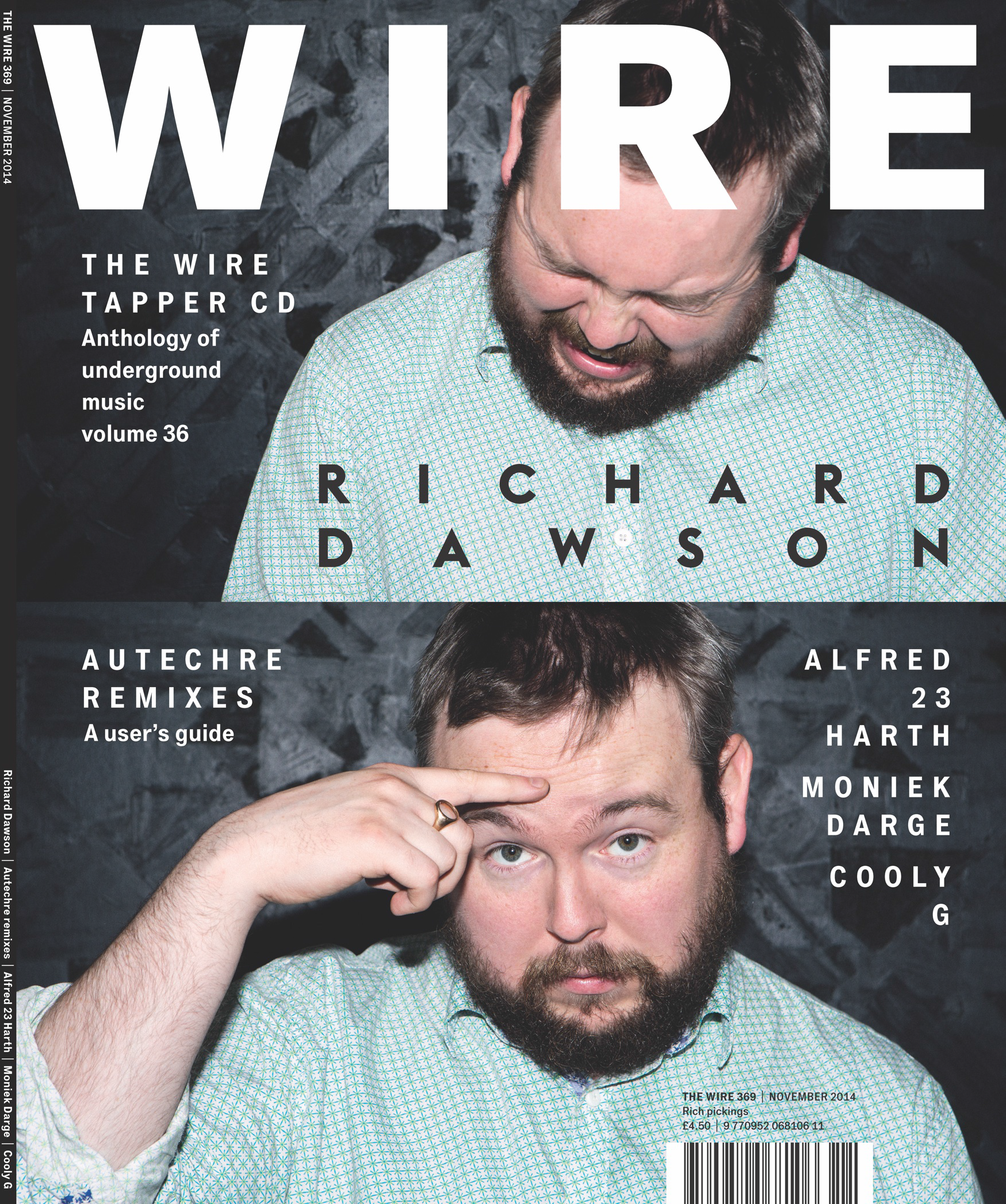 Richard Dawson cover feature for the Wire | Abi Bliss